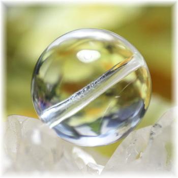 最高品質 ガネッシュヒマール産ヒマラヤ水晶 17ミリ玉 粒販売(GANEZA-TUBU-1702)