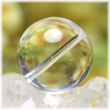 最高品質 ガネッシュヒマール産ヒマラヤ水晶 19.5ミリ玉 粒販売(GANEZA-TUBU-1952)