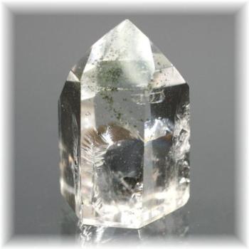 ブラジル産ガーデン水晶ポイント(GERDENQUARTZ-PP117)