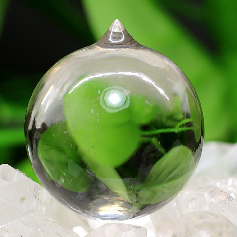 [ガネッシュヒマール産]ヒマラヤ水晶如意宝珠(直径約30.5mm)