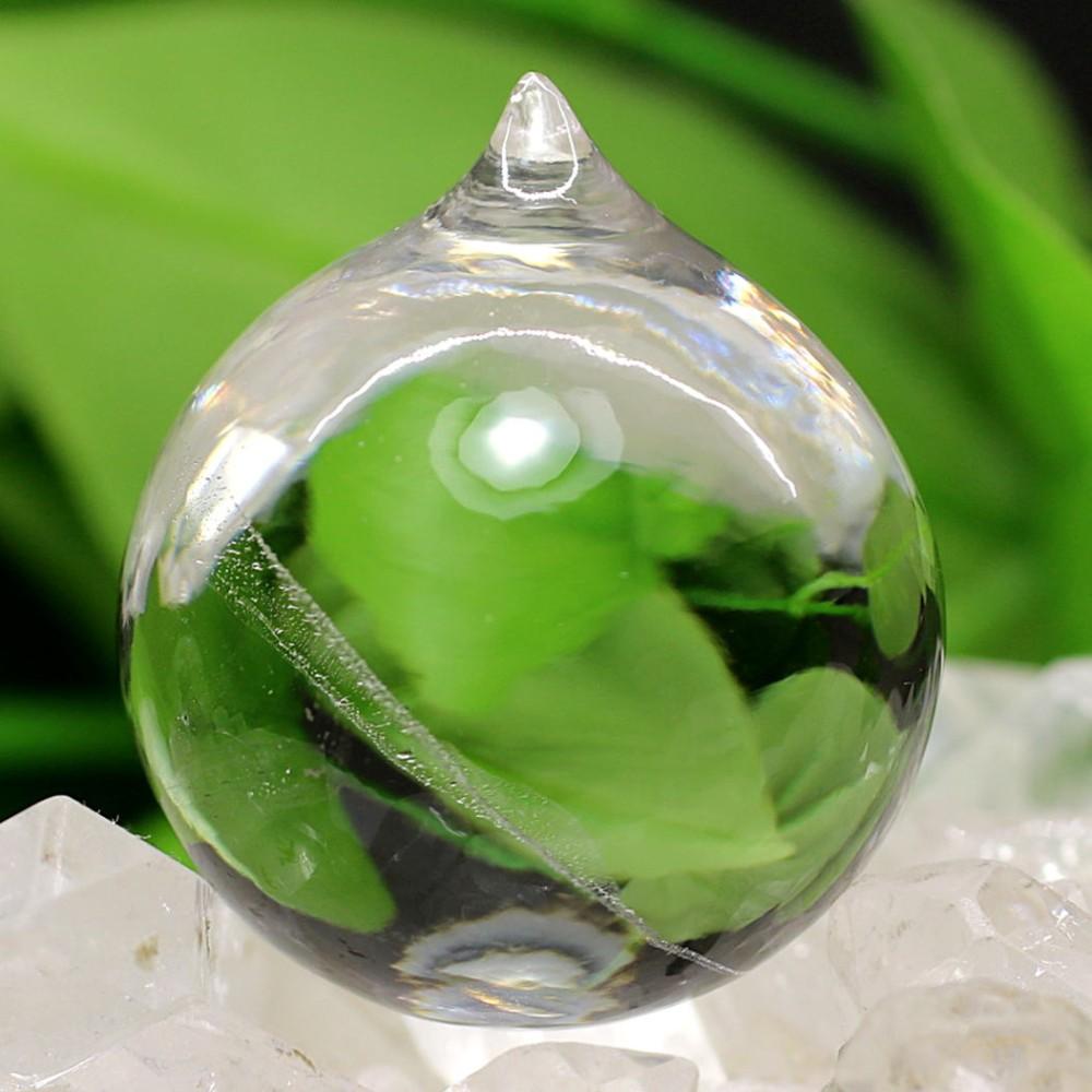 [ガネッシュヒマール産]ヒマラヤ水晶如意宝珠(直径約31.0mm)