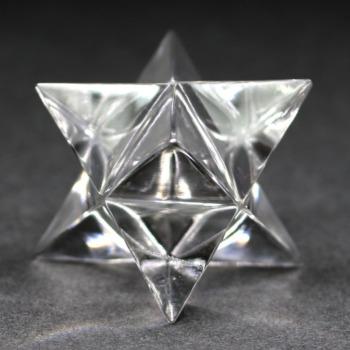 [ガネッシュヒマール産]ヒマラヤ水晶マルカバスター(高さ約23.5mm)