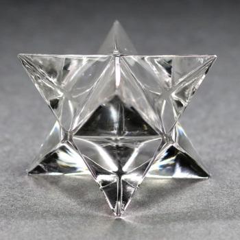 [ガネッシュヒマール産]ヒマラヤ水晶マルカバスター(高さ約25.1mm)