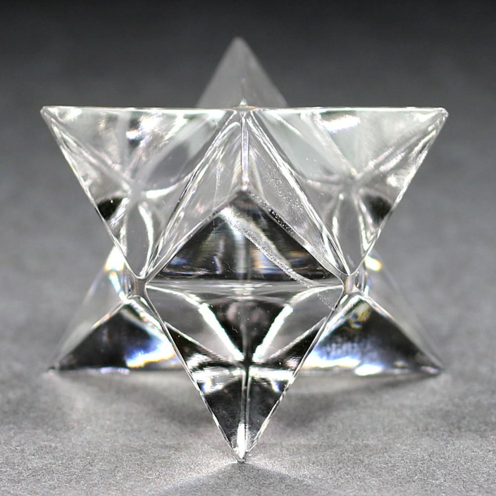 [ガネッシュヒマール産]ヒマラヤ水晶マルカバスター(高さ約26.4mm)