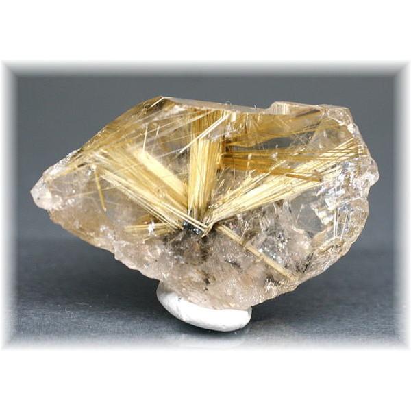 ブラジル産ゴールドルチルクォーツ ポイント(原石)(GOLDRUTILE-NPIS104)