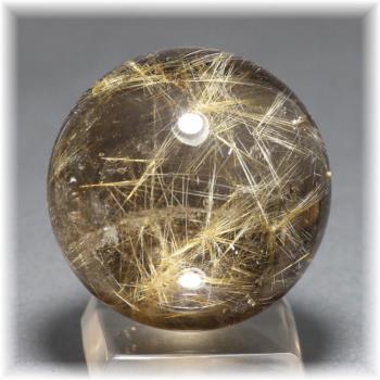 ゴールドルチルクォーツ(スターバーストルチル) スフィア[41.7mm](GOLDRUTILE-SB1023IS)