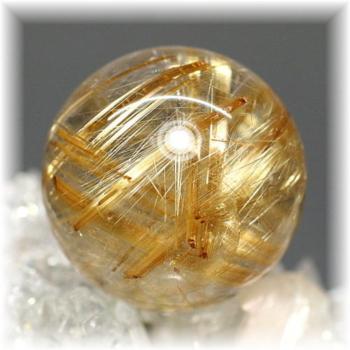 高品質ゴールドルチルクォーツ スフィア[22mm](GOLDRUTILE-SPHERE703IS)