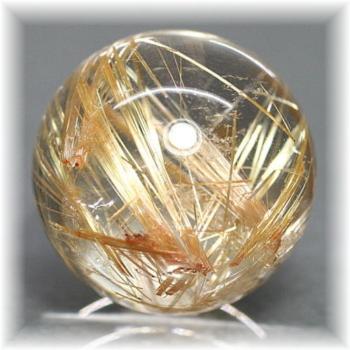 高品質ゴールドルチルクォーツ スフィア[23.2mm](GOLDRUTILE-SPHERE704IS)