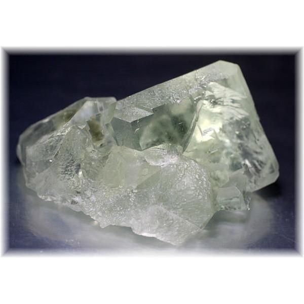 中国産グリーンフローライト結晶