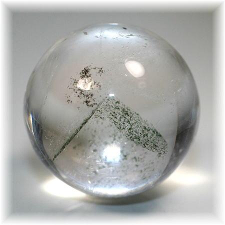 ブラジル産グリーンファントム丸玉(GREENPHANTOM-R318)