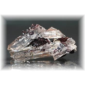 広東省産ヘマタイト&水晶ナチュラルポイント(HEMATITE-QUARTZNP108IS)