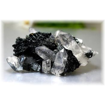 広東省産ヘマタイト&水晶クラスター(HEMATITE-QUARTZCLUSTER1225)