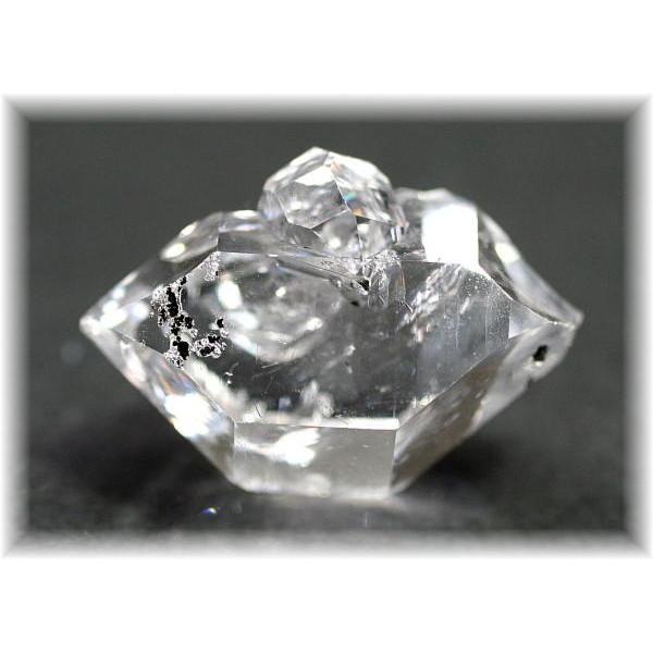 ニューヨーク・ハーキマー地区産ハーキマーダイヤモンド(HERKIMERDIAMOND-201IS)