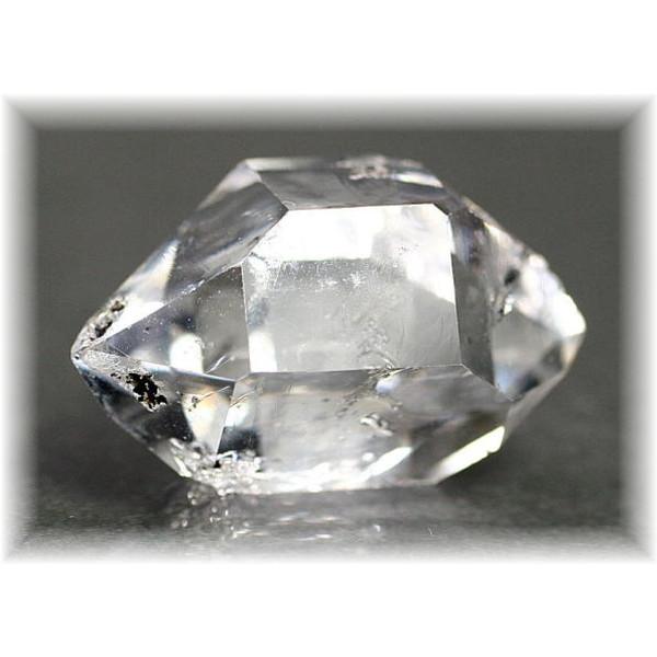 ニューヨーク・ハーキマー地区産ハーキマーダイヤモンド(HERKIMERDIAMOND-207IS)