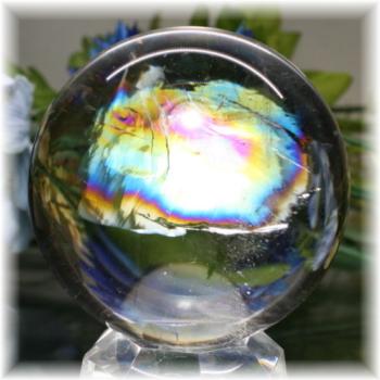 レインボー水晶(虹入り水晶)