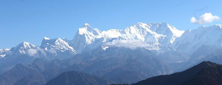 カンチェンジュンガ山脈のイメージ写真
