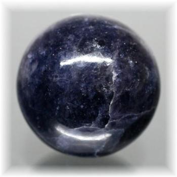 インド産アイオライト丸玉(IOLITE-SPHERE102)
