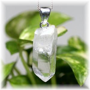 カンチェンジュンガ産ヒマラヤ水晶ナチュラルペンダント(KANCHEN-NATURALPT703IS)
