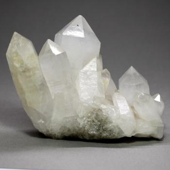 カンチェンジュンガ産ヒマラヤ水晶クラスター