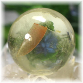 ブラジル産レモンクォーツファントム丸玉(LEMONQUARTZPHANTOM-SPHERE475)