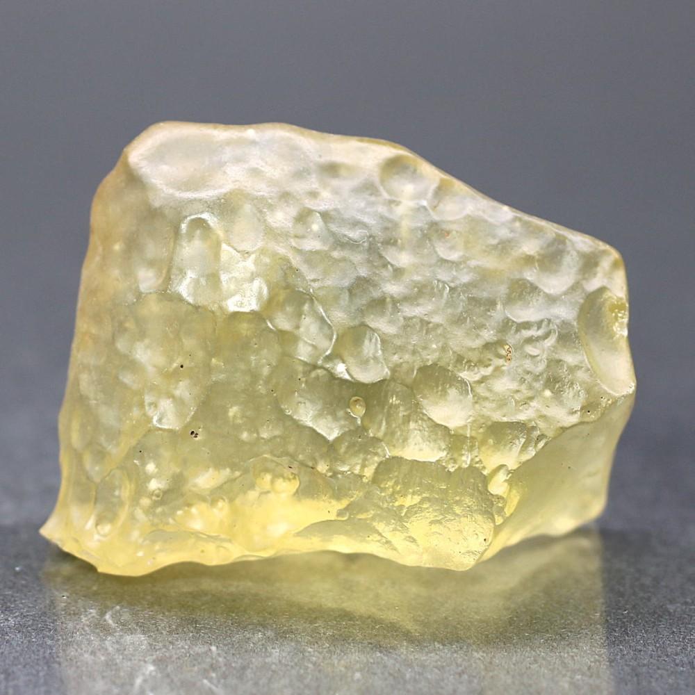 [高品質]天然リビアングラス原石(23.9g)