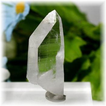 マカルー産ヒマラヤ水晶 ナチュラルポイント(MAKALU-TABULARQUARTZ04)