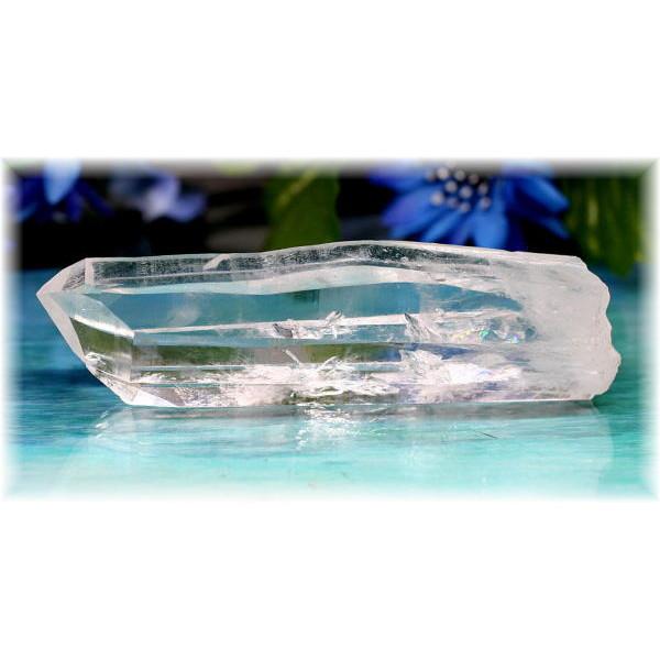 マカルー産ヒマラヤ水晶 ナチュラルポイント(MAKALUQUARTZ-210)