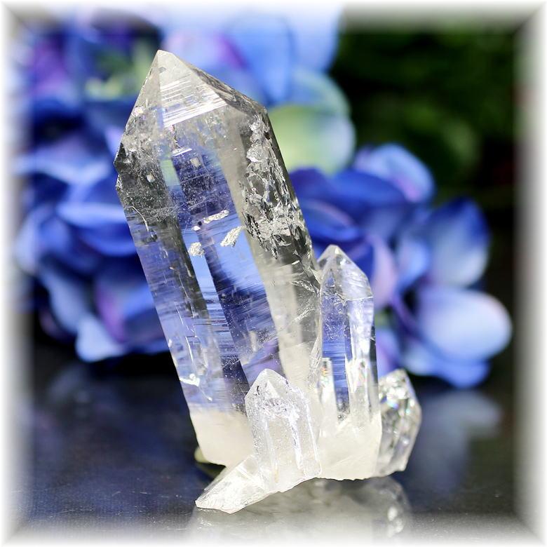 インド・マニハール産ヒマラヤ水晶クラスター(MANIHAAR-CL004IS)