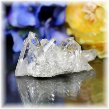 インド・マニハール産ヒマラヤ水晶クラスター(MANIHAAR-CL007IS)