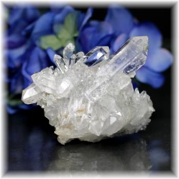 インド・マニハール産ヒマラヤ水晶クラスター(MANIHAAR-CL011IS)