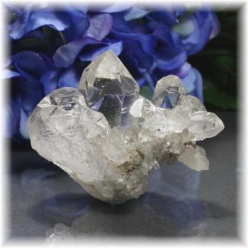 インド・マニハール産ヒマラヤ水晶クラスター(MANIHAAR-QUARTZ-CL104IS)