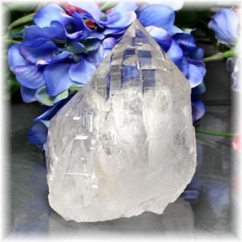 インド・マニハール産ヒマラヤ水晶クラスター(MANIHAAR-QUARTZ-CL107IS)