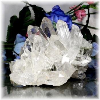 [トップクォリティ]マニハール産ヒマラヤ水晶クラスター[型番MHC-111](MANIHAAR-QUARTZ-CL111IS)