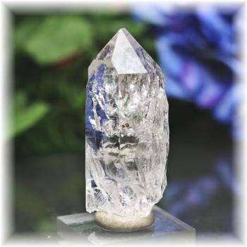 インド・マニハール産ヒマラヤ水晶ナチュラルポイント<レインボー>(MANIHAAR-QUARTZ103IS)