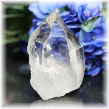 インド・マニハール産ヒマラヤ水晶ナチュラルポイント(MANIHAAR-QUARTZ111IS)