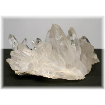 インド・マニハール産ヒマラヤ水晶クラスター(MANIHAAR-QUARTZ4450IS)