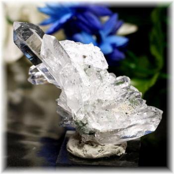 インド・マニハール産ヒマラヤ水晶クラスター(MANIHAAR-QUARTZ503IS)