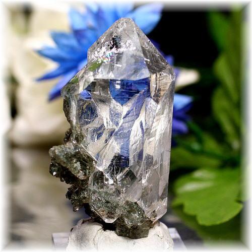 インド・マニハール産ヒマラヤ水晶クラスター(MANIHAAR-QUARTZ505IS)