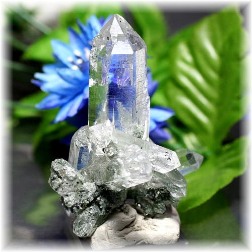 インド・マニハール産ヒマラヤ水晶クラスター(MANIHAAR-QUARTZ508IS)