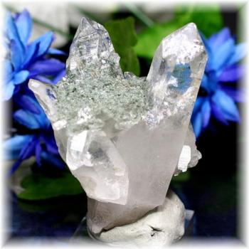 インド・マニハール産ヒマラヤ水晶クラスター(MANIHAAR-QUARTZ509IS)
