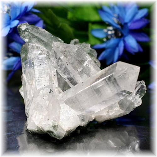 インド・マニハール産ヒマラヤ水晶クラスター(MANIHAAR-QUARTZ511IS)