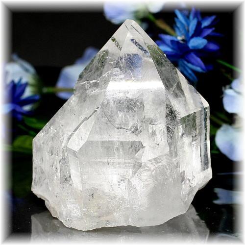インド・マニハール産ヒマラヤ水晶クラスター(MANIHAAR-QUARTZ6840IS)