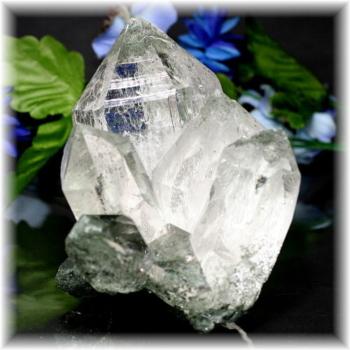インド・マニハール産ヒマラヤ水晶クラスター(MANIHAAR-QUARTZ8850IS)