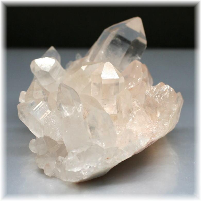 インド・マニカラン産ヒマラヤ水晶クラスター [MKC-804]