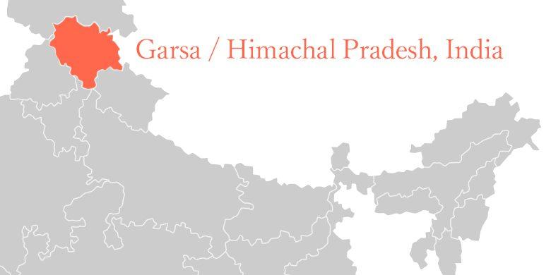 インド・ヒマーチャルプラディーシュ州の地図