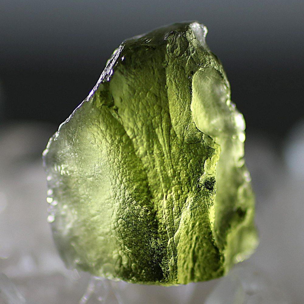 [チェコ共和国産]天然モルダバイト原石