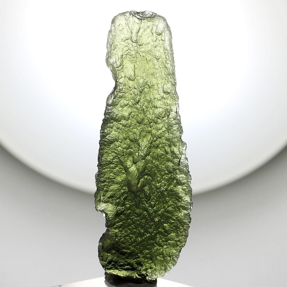[高品質・チェコ共和国産]天然モルダバイト原石(10.4g)
