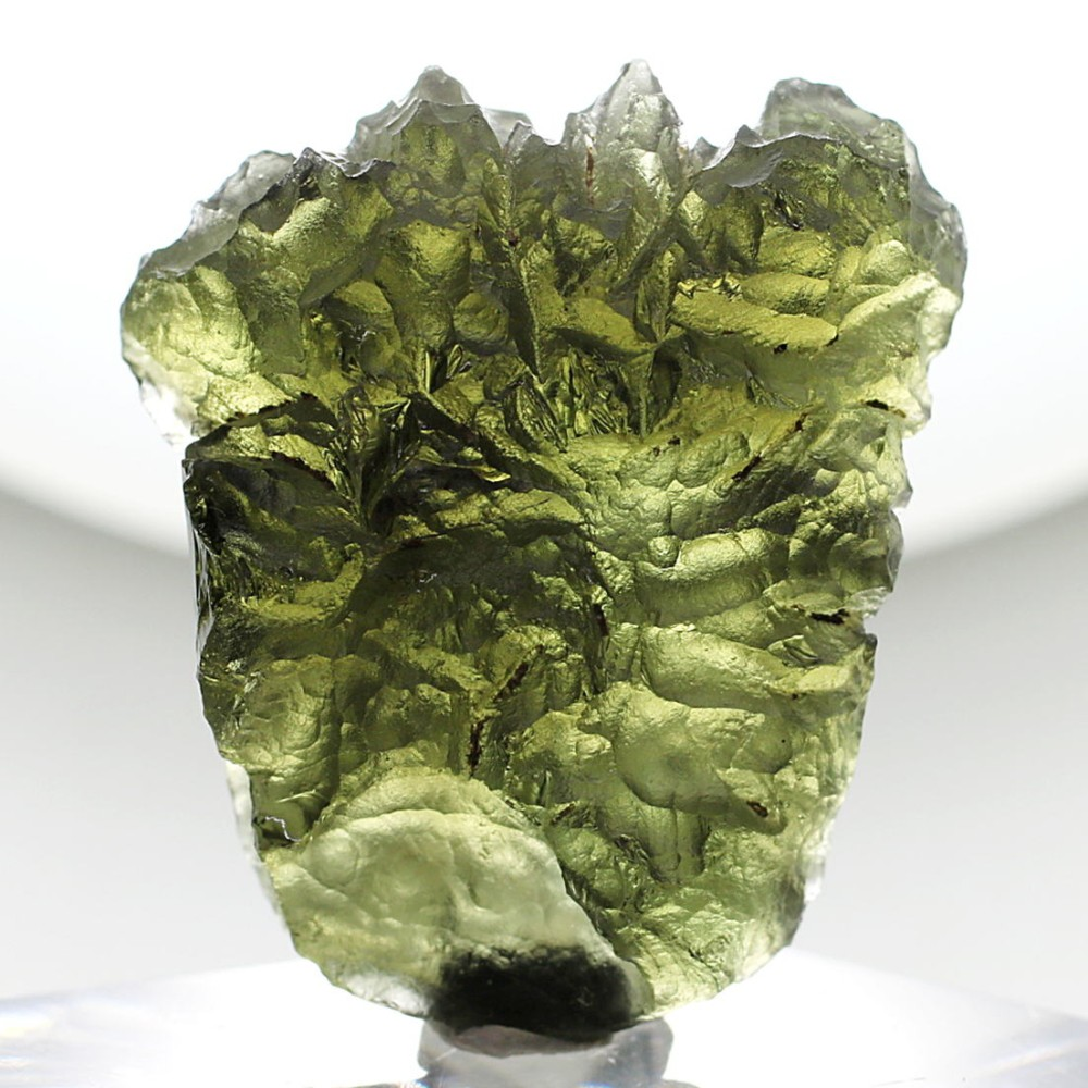 [高品質・チェコ共和国産]天然モルダバイト原石(11.2g)