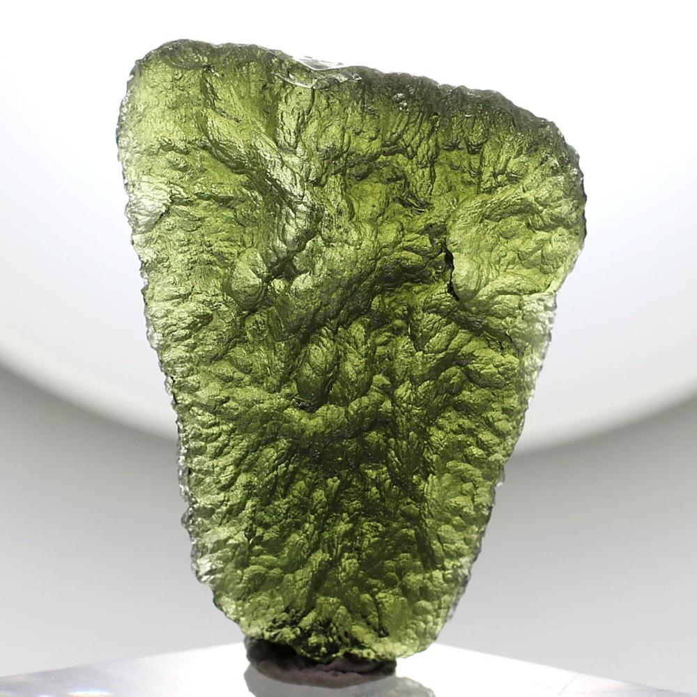 [高品質・チェコ共和国産]天然モルダバイト原石(12.0g)