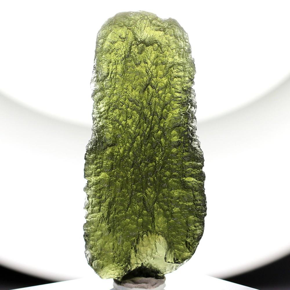 [高品質・チェコ共和国産]天然モルダバイト原石(12.6g)